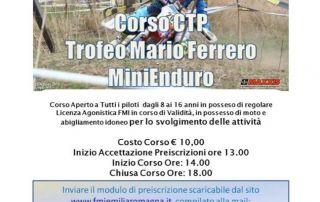 Corso CTP Trofeo Mario Ferrero MiniEnduro 2019