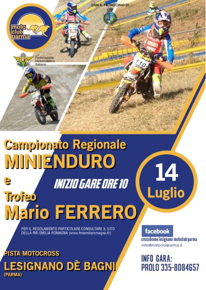 Campionato Regionale Minienduro e Trofeo Mario Ferrero 14 Luglio 2019